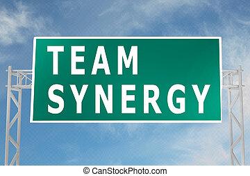 pojem, mužstvo, synergy