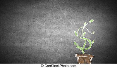 pojem, nárůst, příjem