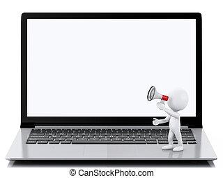 pojem, nakupování, národ, laptop., stav připojení, neposkvrněný, 3