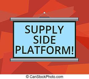 pojem, přenosný, dodatek, val, text, nad, oběšený, čistý, projekt, porada, reklamy, puts, systém, dílo, presentation., povolání, chránit, platform., automatizovaný, vzkaz, up, stěna, software