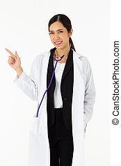 pojem, portrét, zdravotní stav věda, mládě, lékařský, kolem...