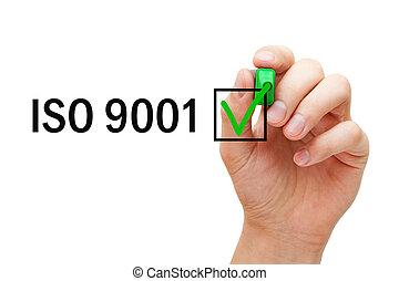 pojem, systém, management, iso, 9001, kvalita, dosvědčit