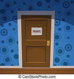 pokój, prywatny