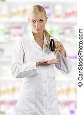 pokaz, produkt, medyczny