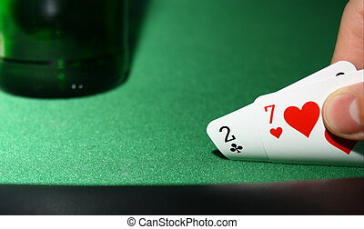 poker: 2, 7 suited
