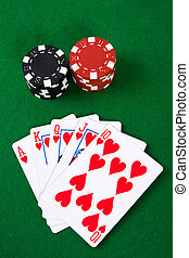Poker arrangement