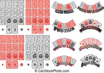 poker card suit vector graphic art design illustration