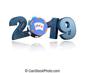 Poker Chips 2019 Design