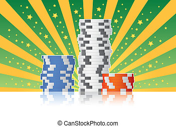 Poker Chips - Casino poker chips.