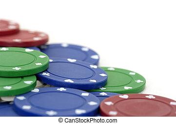 Poker Chips - Photo of Poker Chips