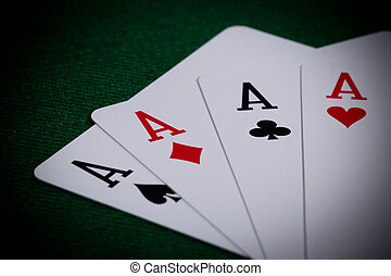 Poker close-up
