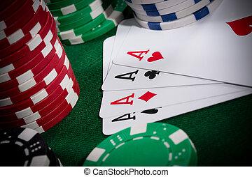 Poker close-up