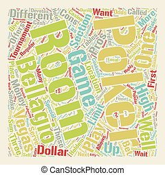 poker, concept, salle, texte, reviewed, wordcloud, fond, bellagio