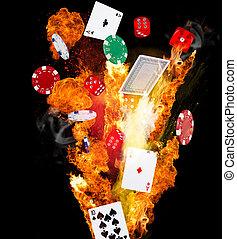 poker, fond