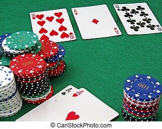 Poker full house