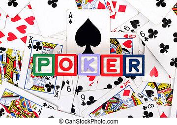 poker, glose