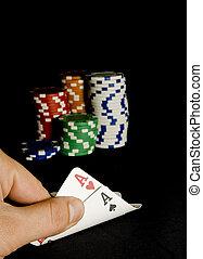 Poker hand, Casino