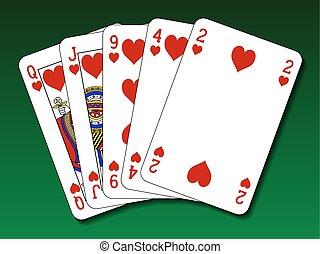 Poker hand - Flush