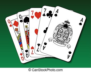 Poker hand - Two pair