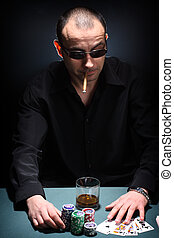 poker, joueur