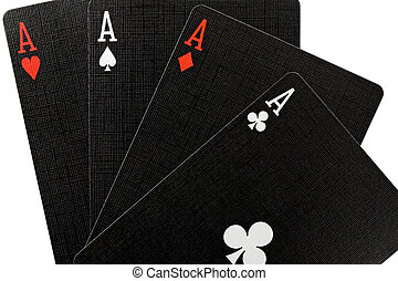 Poker of aces - Today I have good hands. Poker of aces