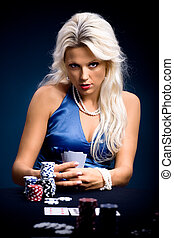 poker, pige