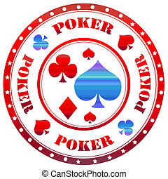 Poker-stamp