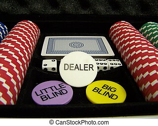 poker - Set of poker chips