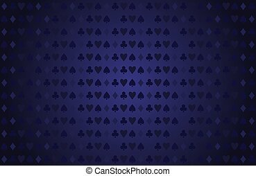 Poker table texture
