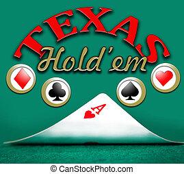 poker texas holdem, gambling background