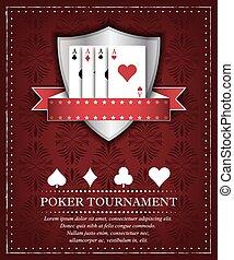 poker, torneo, fondo