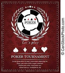 Poker tournament background - Poker background for...