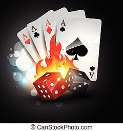 poker tournament logo template