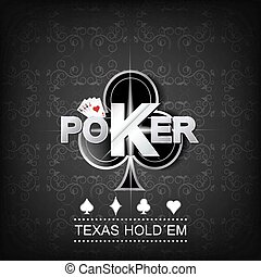 Poker vector background