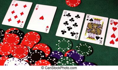 Poker. Winner.