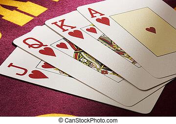 pokerkarten, -, pokercards
