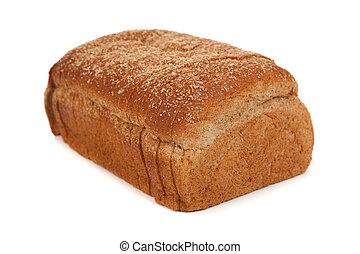 pokrojony bochenek, pszenica, biały chleb