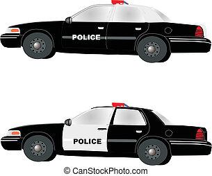 polícia, cruzadores