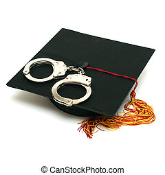 polícia, graduado
