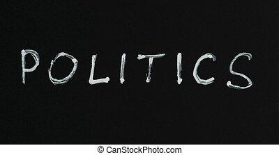 política, concepción, texto