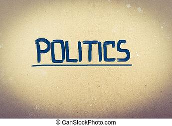 política, concepto