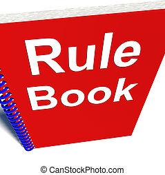 política, libro, manual, guía, regla