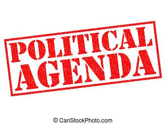 político, agenda