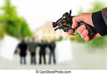 político, asesino, puntos de la reunión