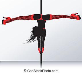 polaco, erótico, striptease, dance.