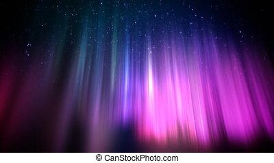 polaire, lumières, boucle