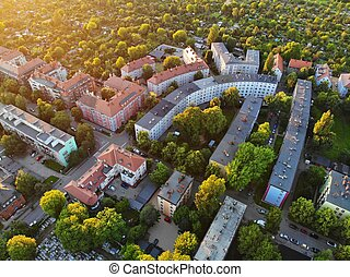 Poland - Bytom town