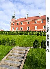 Poland capital Warsaw kings palace