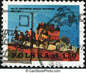 100 years of the international postal service