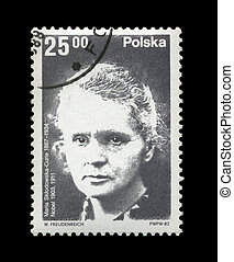 POLAND - CIRCA 1982: cancelled stamp printed in Poland, shows fa